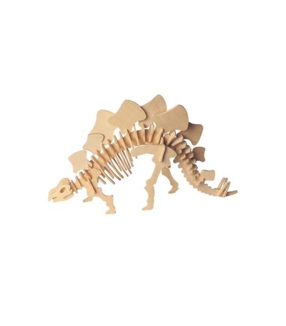 3D puzzle - dinosaury  STEGOSAURUS