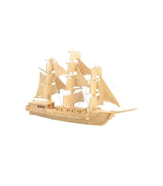 3D puzzle - lode  PLACHETNICA 1