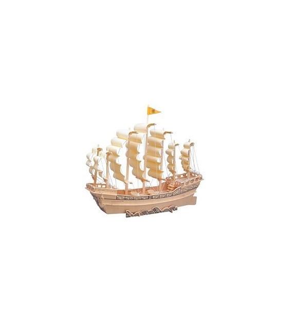 3D puzzle - lode  PLACHETNICA 2