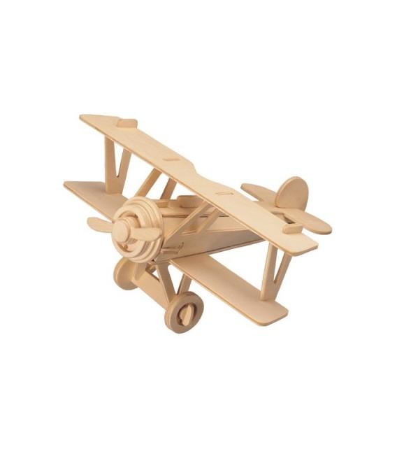 3D puzzle - lietadlá  DVOJPLOŠNÍK