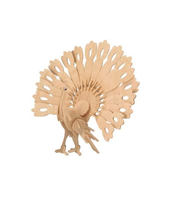 3D puzzle - zvieratá PÁV – veľký