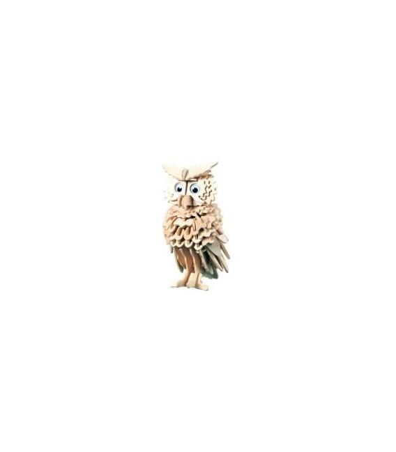 3D puzzle - zvieratá SOVA