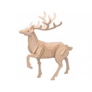 3D puzzle - zvieratá JELEŇ