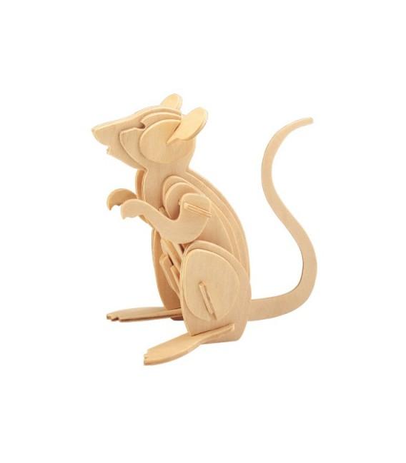3D puzzle - zvieratá MYŠ