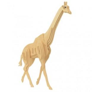 3D puzzle - zvieratá ŽIRAFA