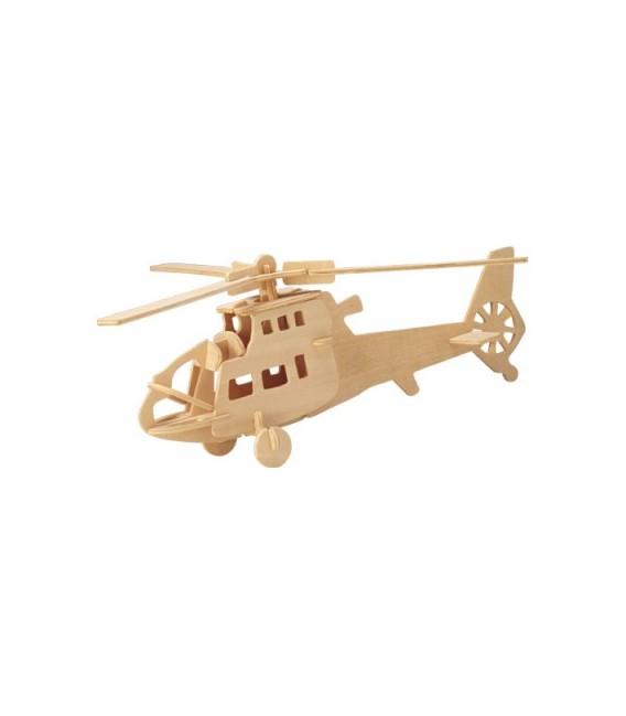3D puzzle - lietadlá  VRTUĽNÍK