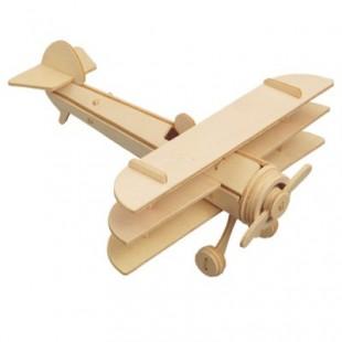3D puzzle - lietadlá  TROJPLOŠNÍK