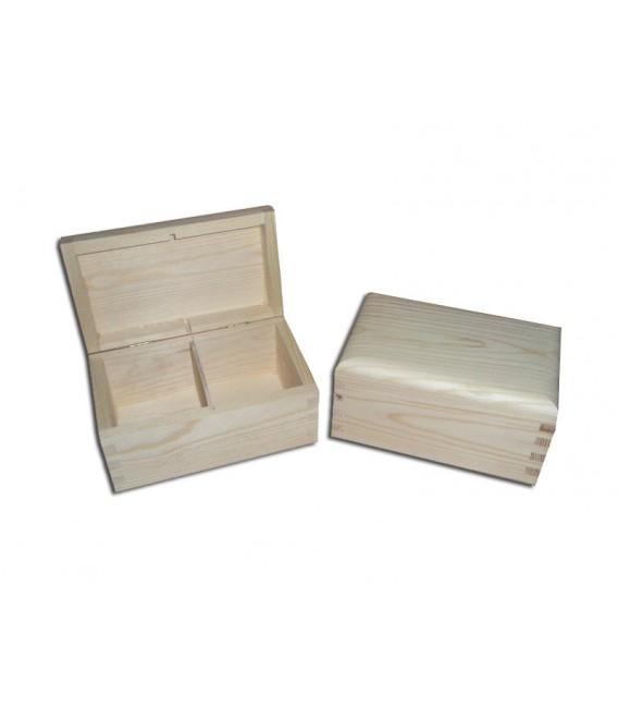 Krabička na čaj - 2 priehradková