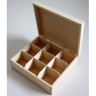 Krabička na čaj - 9 priehradková
