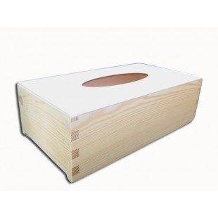 Krabička na vreckovky - podstava obdĺžnik