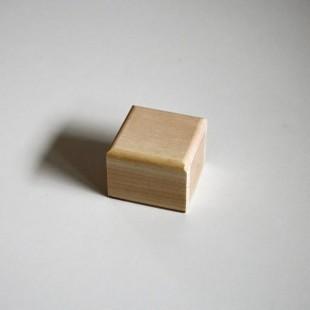 Krabička - malá (zaoblené drevené viečko)
