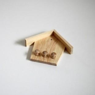 Vešiak na kľúče - domček