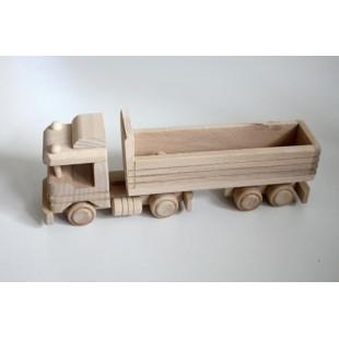 Nákladné auto s prívesom