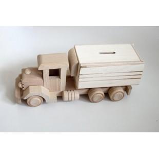 Nákladné auto - pokladnička
