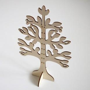 Stromček na náušnice - redšie