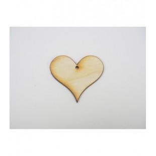 Srdce - zúžené s dierkou