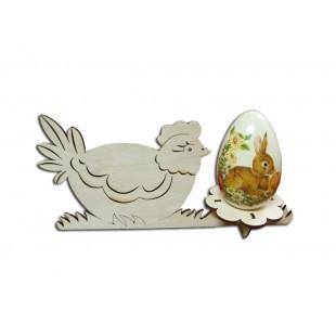Podstavec na 1 vajíčko - kura