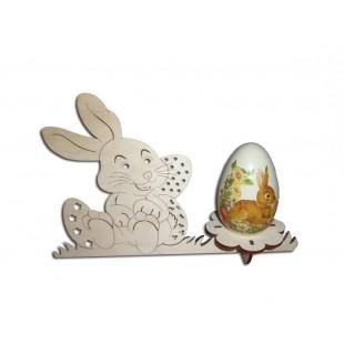 Podstavec na 1 vajíčko - zajac