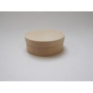 Krabička tenká - okrúhla stredná