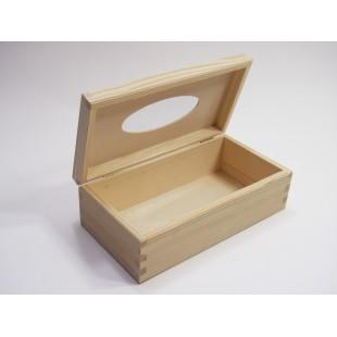 Krabička na vreckovky otváracia - obdĺžnik
