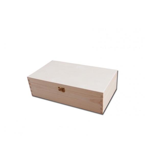 Krabička na 2 vína - prírodná