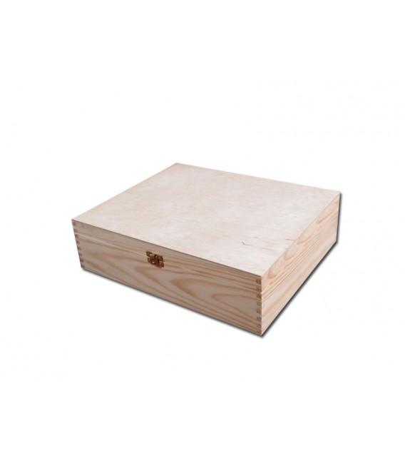 Krabička na 3 vína - prírodná