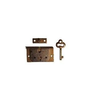 Zámok na krabičky s kľúčikom