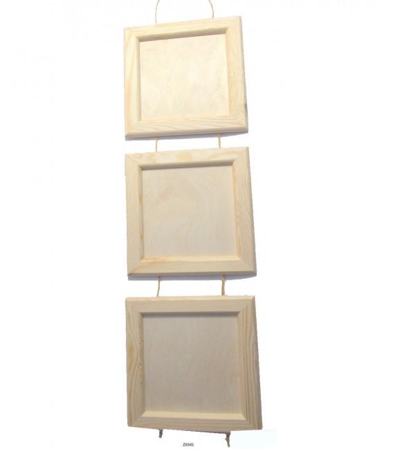 Foto rámik - set 3 rámikov na šnúrke 230