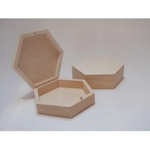 Šesťuholná krabička - malá