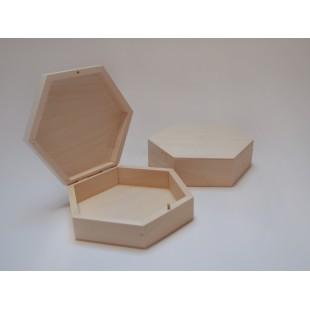 Šesťuholná krabička - stredná