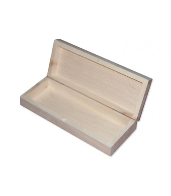 Zatvárateľný drevený peračník
