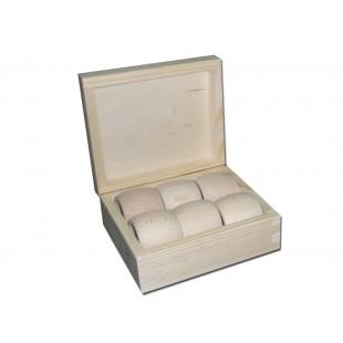 Krabičky so 6 obrúčkami na servítky