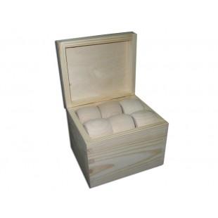 Krabičky s 12 obrúčkami na servítky - vysoká