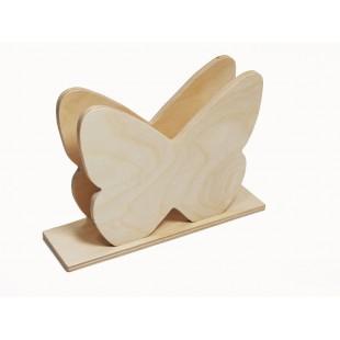 Stojan na servítky - motýľ