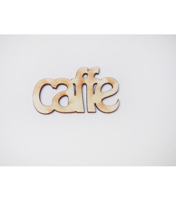 Drevený výrez - Coffee