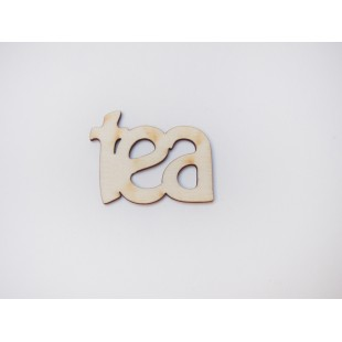 Drevený výrez - Tea