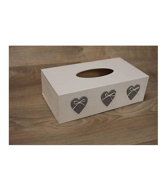 Krabička na papierové vreckovky - podstava obdĺžnik